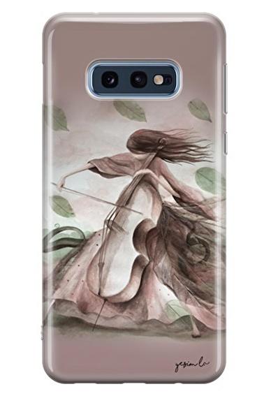 Lopard Samsung Galaxy S10E Kılıf Sanat Kapak Renkli